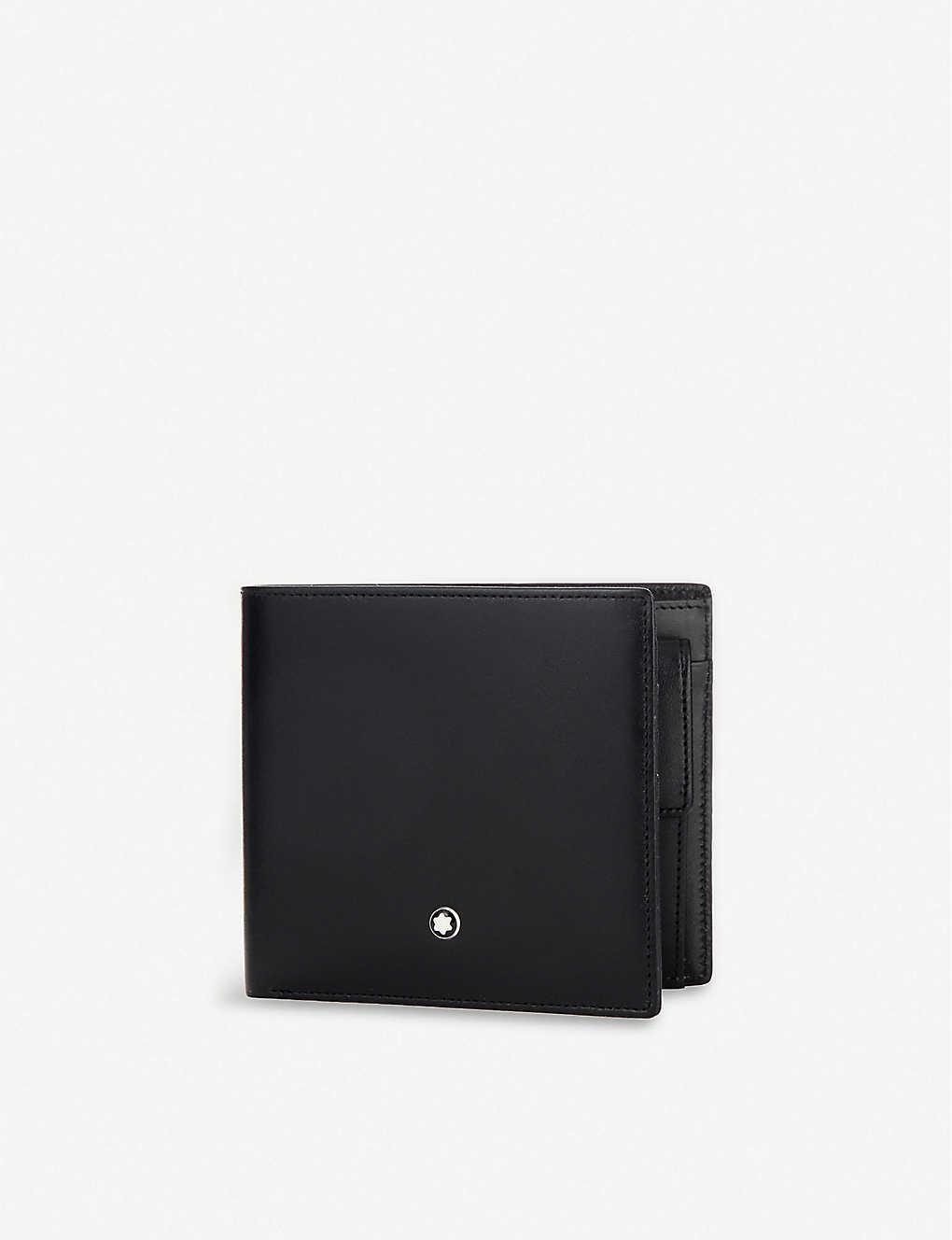 bec908168ba24 MONTBLANC - Meisterstück leather 4cc wallet | Selfridges.com