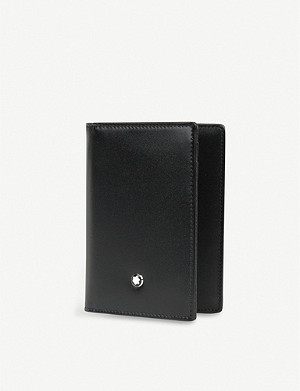 MONTBLANC Meisterstück leather business card holder