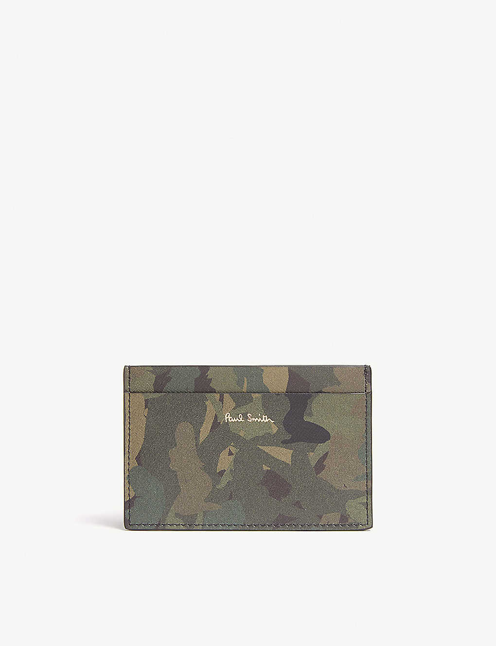 815c8f7b515e PAUL SMITH ACCESSORIES - Naked lady print leather card holder ...
