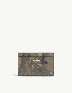 PAUL SMITH ACCESSORIES Naked lady print leather card holder