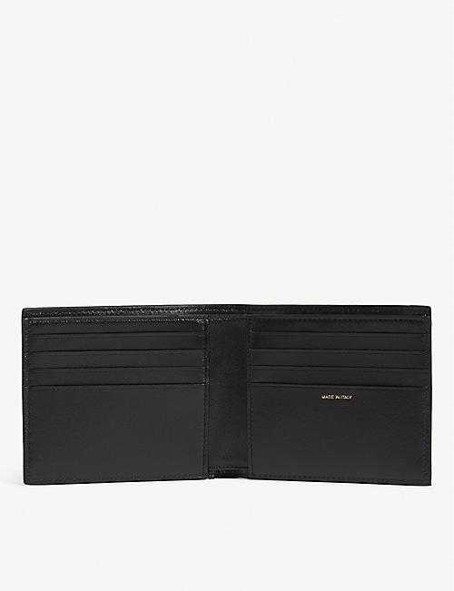 PAUL SMITH ACCESSORIES Pool photo leather wallet