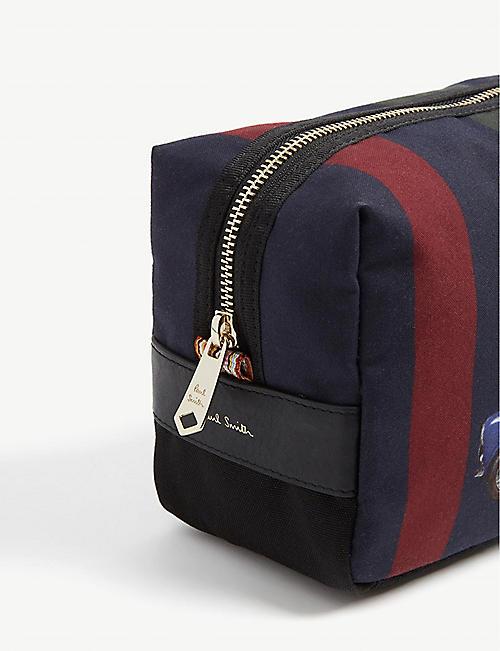 594a1734852f PAUL SMITH ACCESSORIES Mini print striped cotton washbag