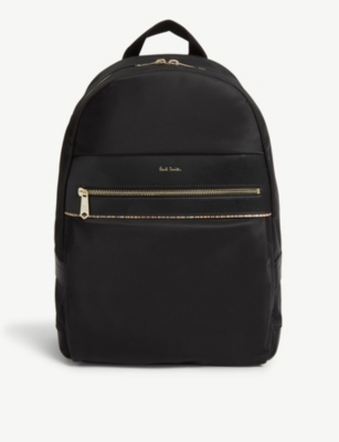 PAUL SMITH ACCESSORIES Striped nylon backpack