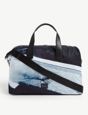 PAUL SMITH ACCESSORIES Beach print holdall