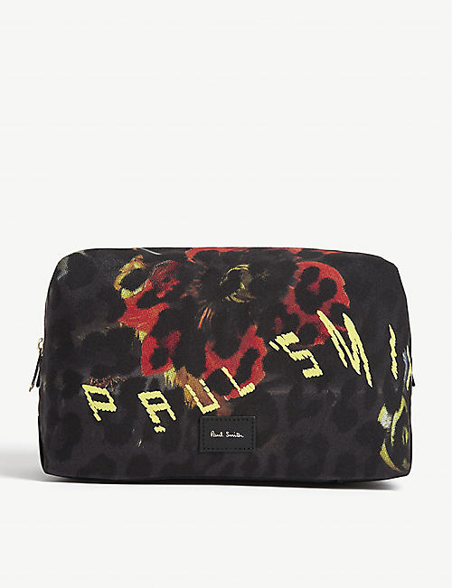 PAUL SMITH ACCESSORIES Graphic print washbag