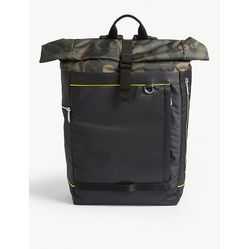 PAUL SMITH | Naked Lady Camouflage-Print Shell Backpack | Goxip