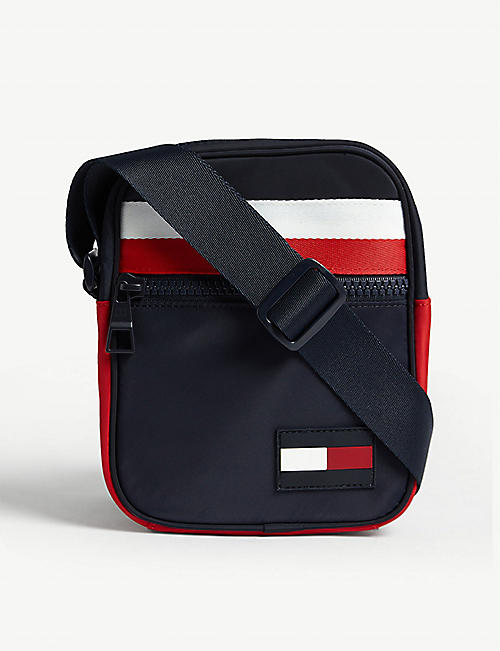 TOMMY HILFIGER Mini nylon reporter bag