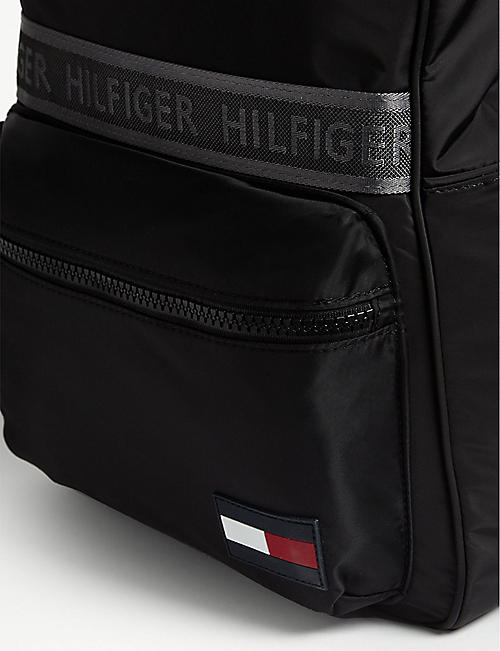 TOMMY HILFIGER Logo trim nylon backpack