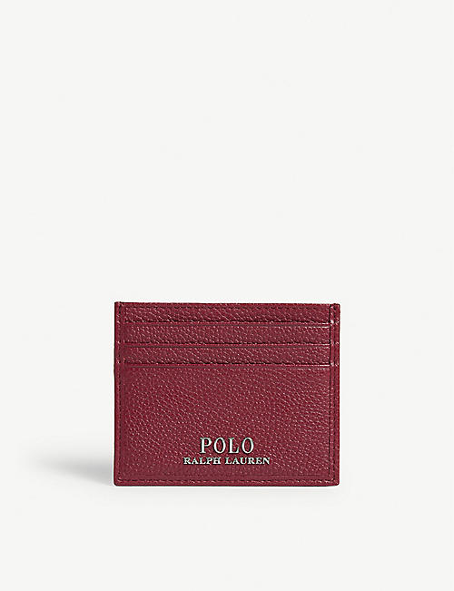 POLO RALPH LAUREN Leather card holder