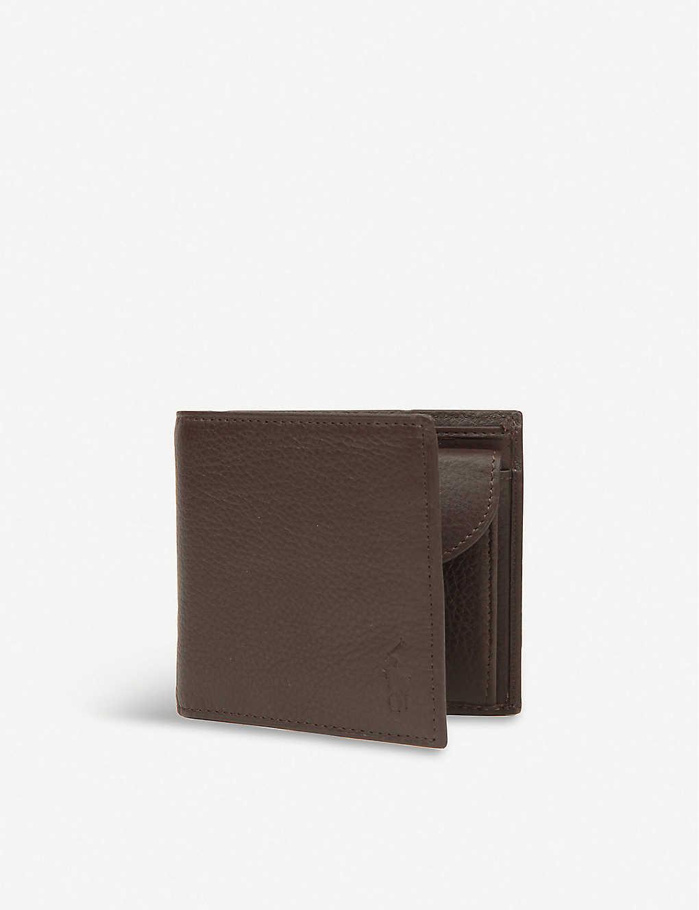 132d16862969 POLO RALPH LAUREN - Pebbled leather wallet | Selfridges.com