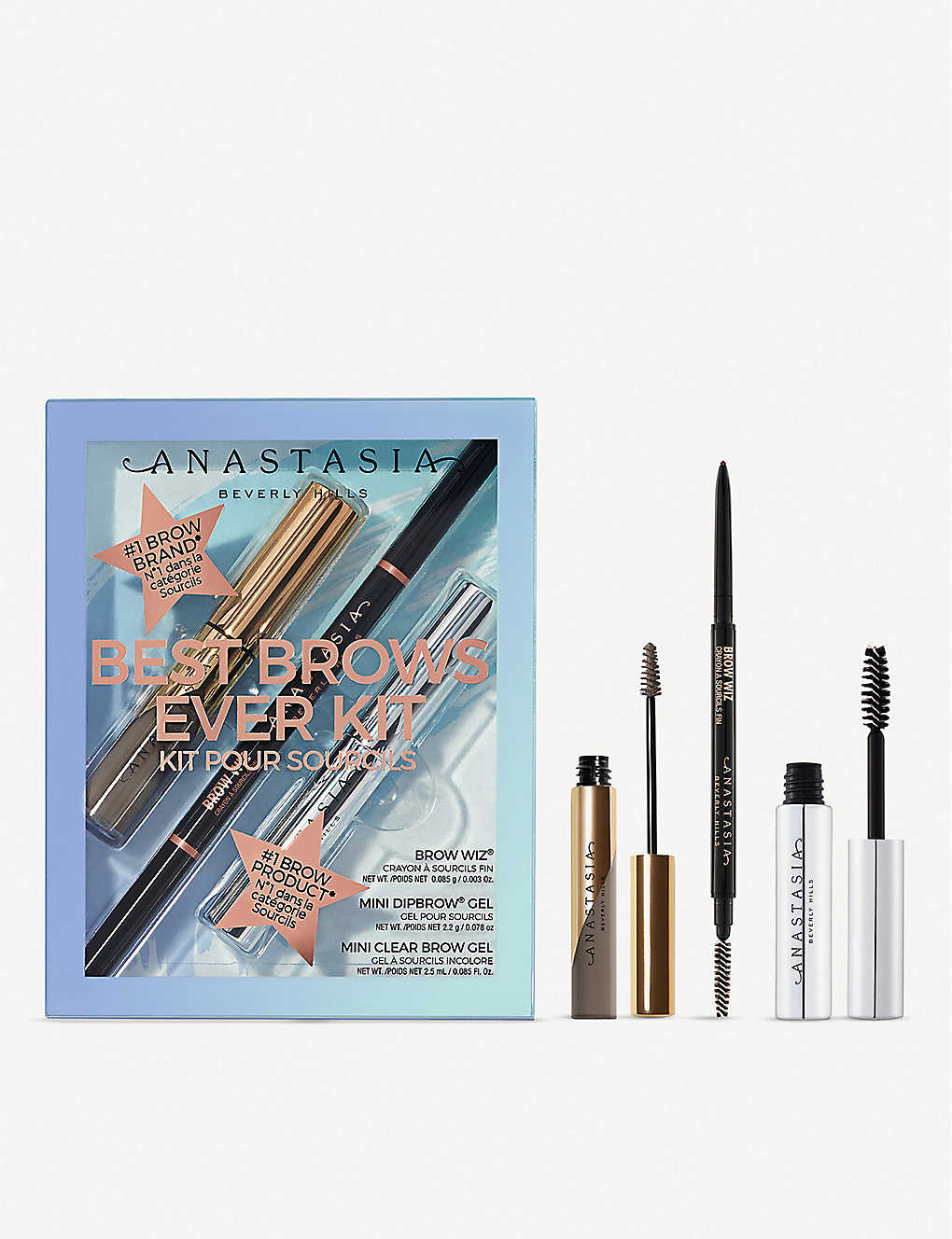 ANASTASIA BEVERLY HILLS: Best Brows Ever eyebrow kit