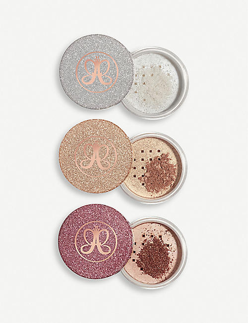 ANASTASIA BEVERLY HILLS Loose Highlighter powder mini set 135g