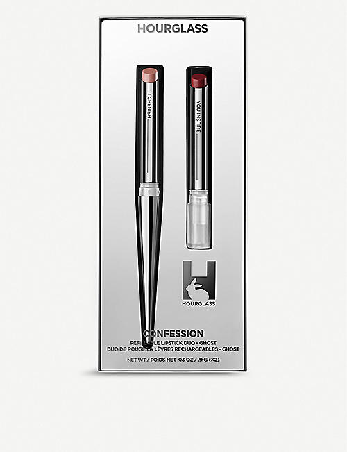 HOURGLASS: Lip Confession duo