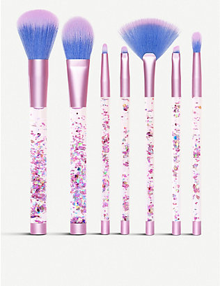LIME CRIME: Aquarium Brush Set and Pouch
