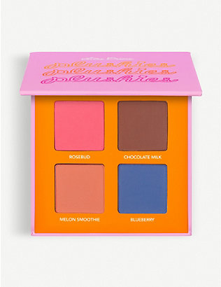 LIME CRIME: Plushies Sheer Pressed Pigment Quad Eyeshadow Palette
