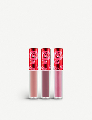 LIME CRIME Jolly Holiday Mini Velvetines Lip Set