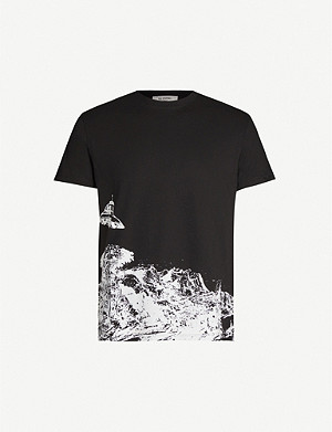 VALENTINO Valentino x Undercover graphic-print cotton-jersey T-shirt