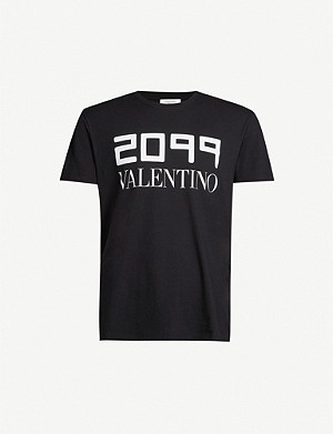 VALENTINO 2099 cotton-jersey T-shirt