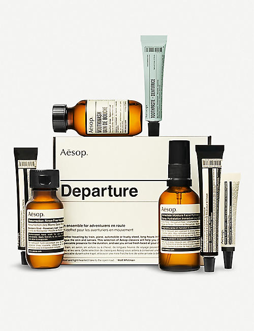 AESOP Departure travel set