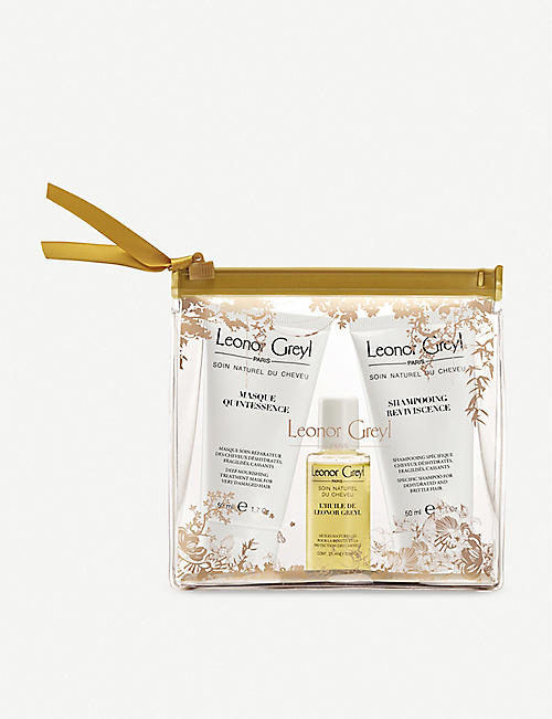 LEONOR GREYL: Quintessence travel hair set of three