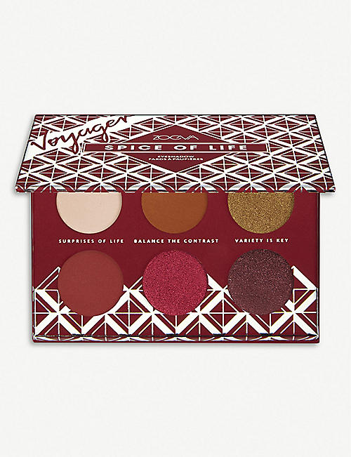 ZOEVA: Spice of Life Voyager travel eyeshadow palette 9g