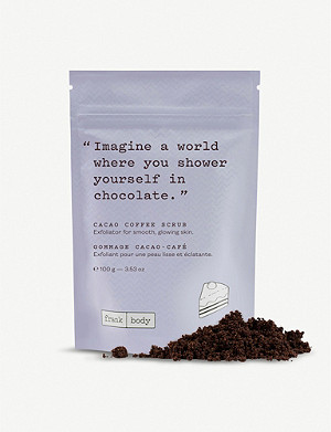 FRANK BODY Cacao Coffee Scrub 100g