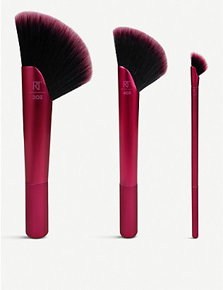 REAL TECHNIQUES: Rebel Edge Trio make-up brush set