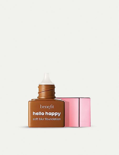 BENEFIT: Hello Happy Soft Blur Foundation travel-sized mini 6.0ml