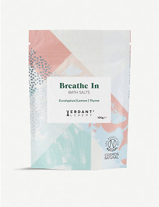 NONE: Breathe In Bath Salts 100g