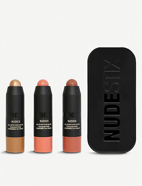 NUDESTIX: Mini Nudies Blush Bronze & Glow Kit
