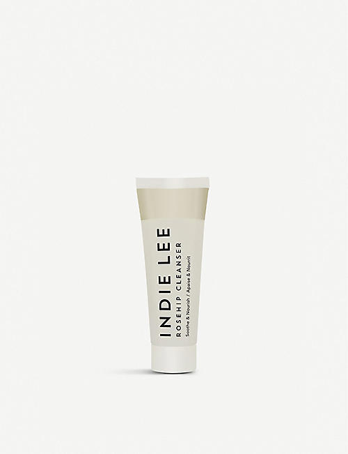 INDIE LEE: Rosehip facial cleanser travel size 30ml