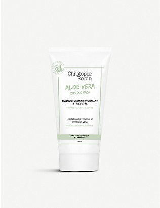 CHRISTOPHE ROBIN: Hydrating Melting Mask with Aloe Vera 75ml