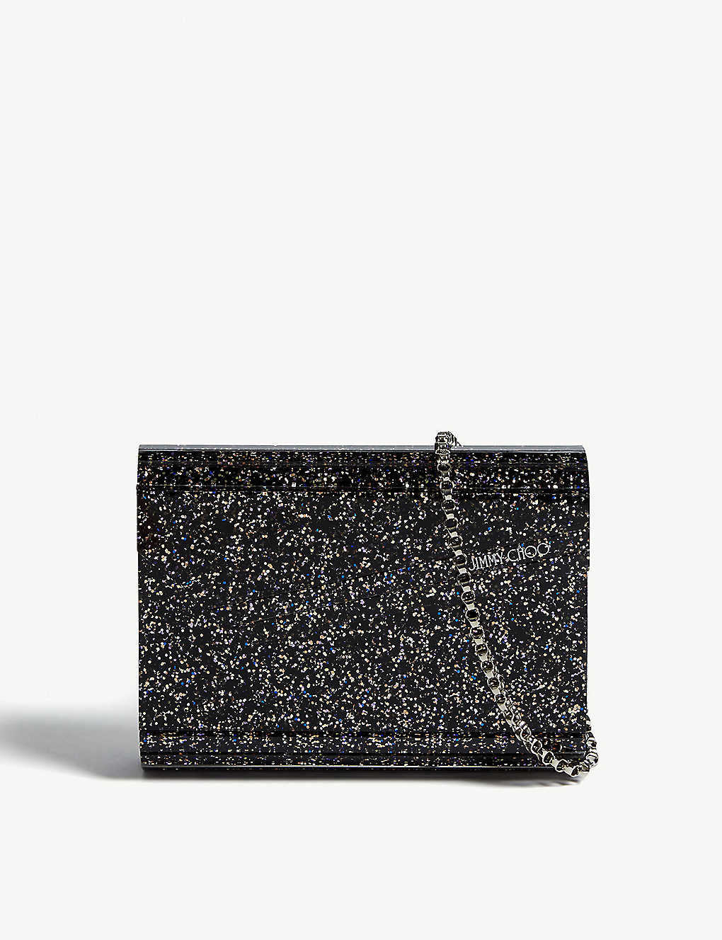 3641c7271b7 JIMMY CHOO - Candy glitter acrylic clutch bag | Selfridges.com