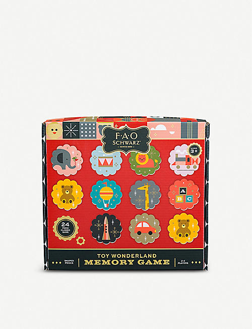 FAO SCHWARZ Toy Wonderland Memory game