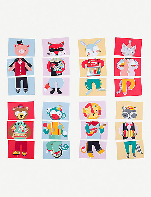FAO SCHWARZ Animal Parade mix and match game