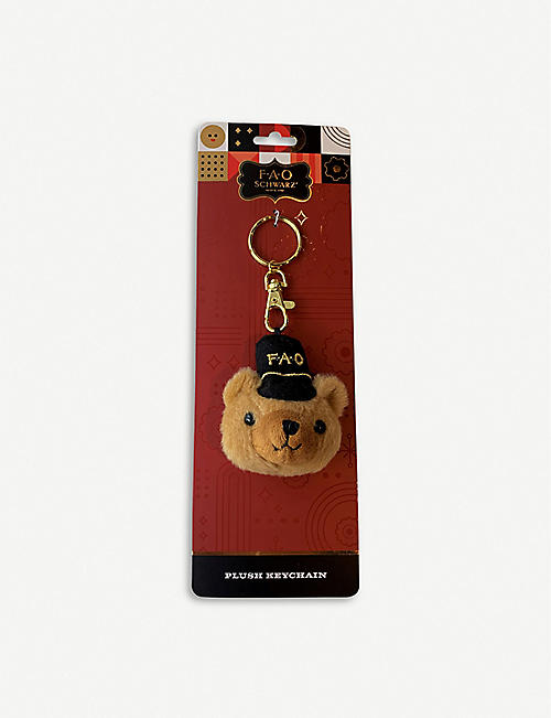 FAO SOUVENIRS Teddy bear plush key chain
