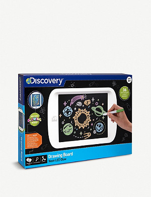 FAO SCHWARZ DISCOVERY Neon light-up drawing board set
