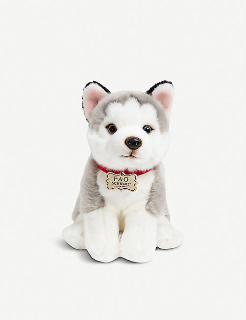 FAO PLUSH: Floppy Husky plush toy 24cm