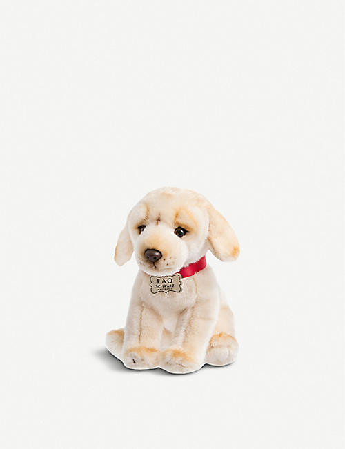 FAO PLUSH: Floppy Labrador plush toy 26cm