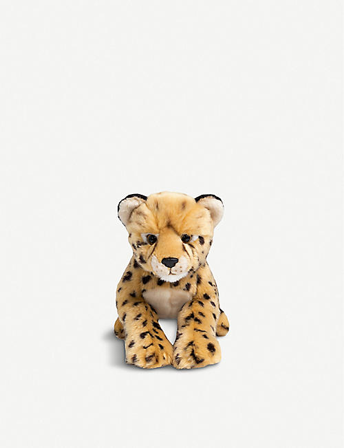 FAO PLUSH: Cheetah cub plush toy 30cm
