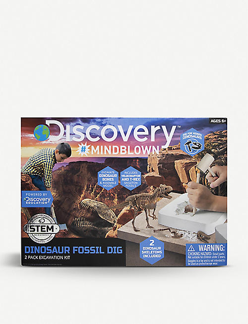 FAO SCHWARZ DISCOVERY: Discover dinosaur excavation kit