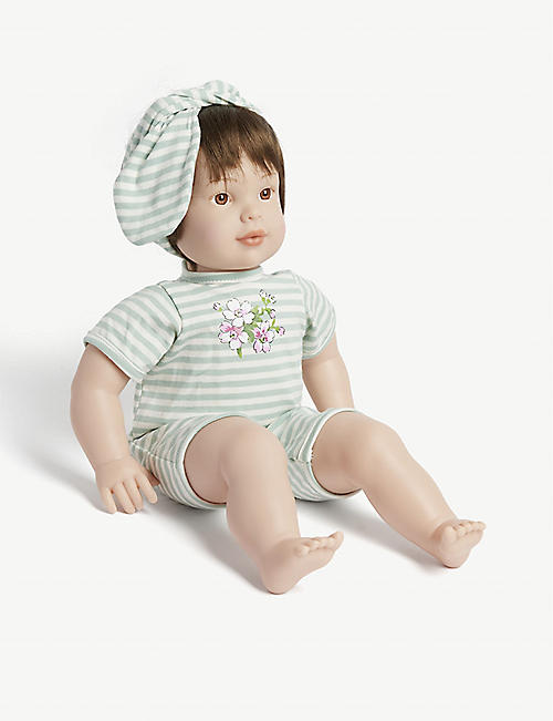 MY F.A.O DOLL: Stripe-print T-shirt and shorts toy doll 31.75cm
