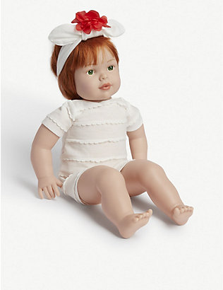 MY F.A.O DOLL: Poppy-print sleeping bag and toy doll 31.75cm