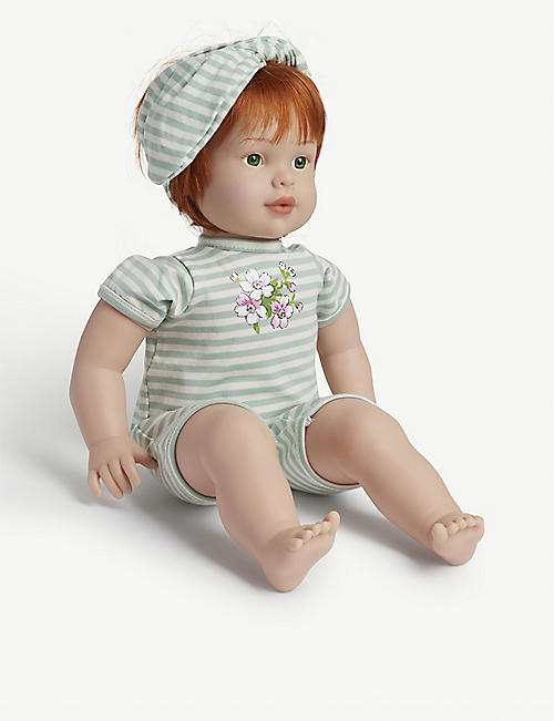MY F.A.O DOLL: Floral-print sleeping bag and toy doll 31.75cm