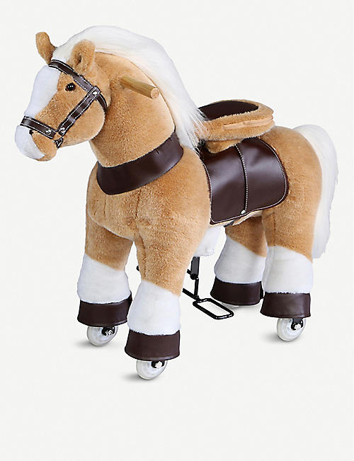 FAO PLUSH Ride-on pony soft toy 70cm x 55cm