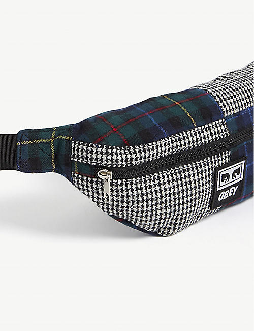 OBEY Daily patchwork belt bag
