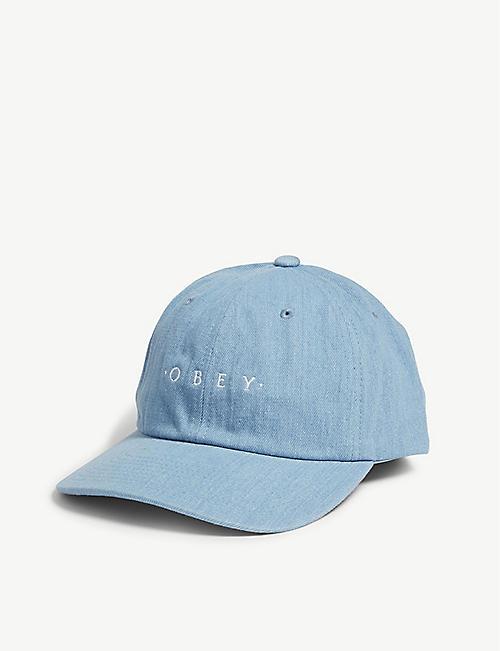 3f5b4580b1c99 OBEY Intention 6 cotton snapback cap