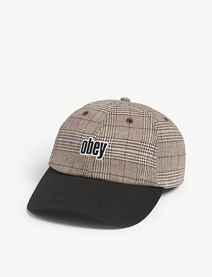 789ededbe5ad5 OBEY - Logo patch snapback cap
