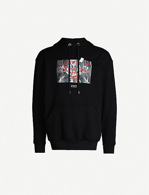 THROWBACK Power Rangers cotton-jersey hoody