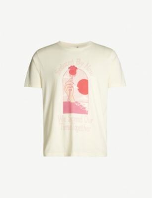 COPSON Seduced cotton-jersey T-shirt